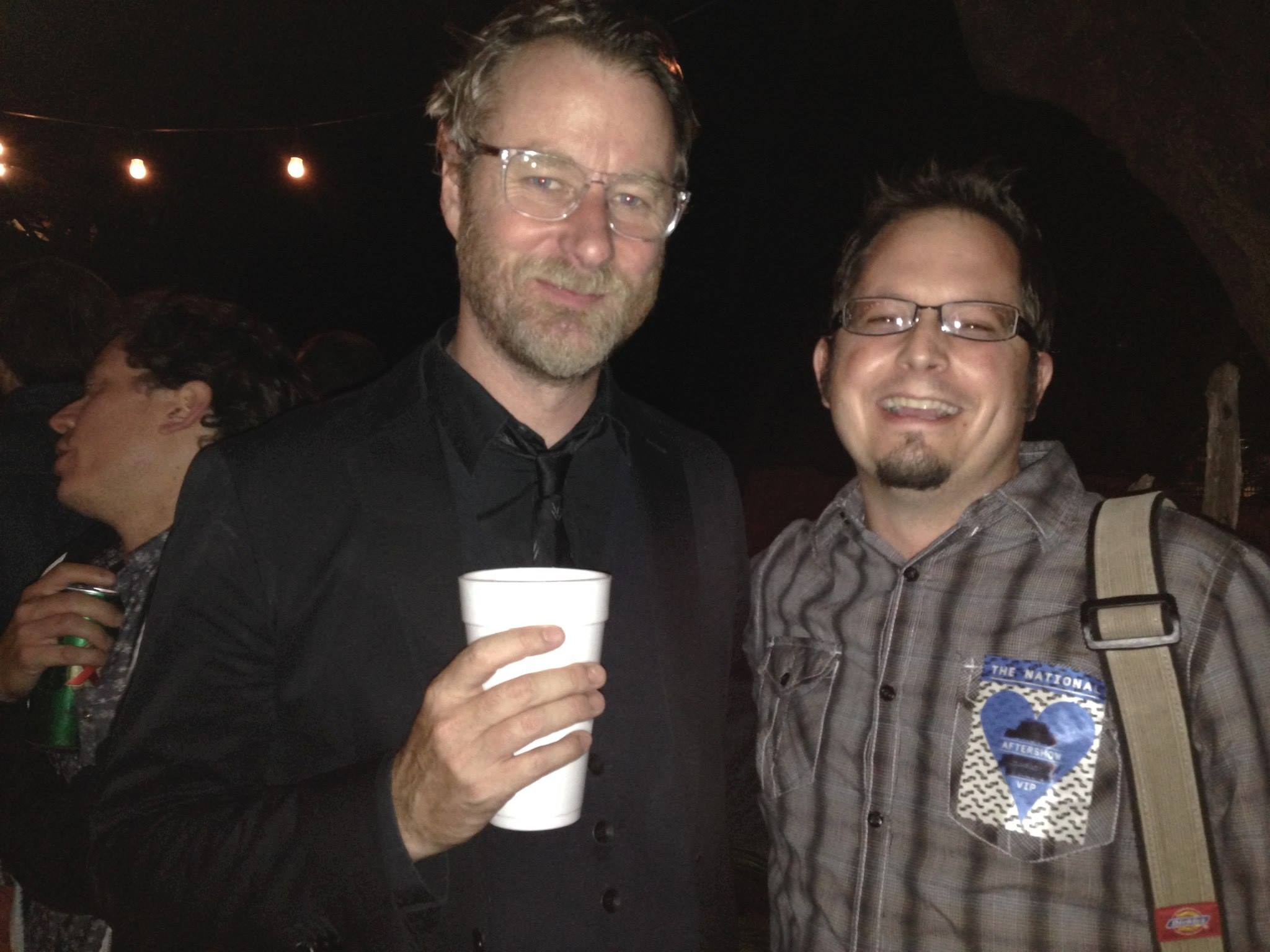 With the talented Matt Berninger of The National.