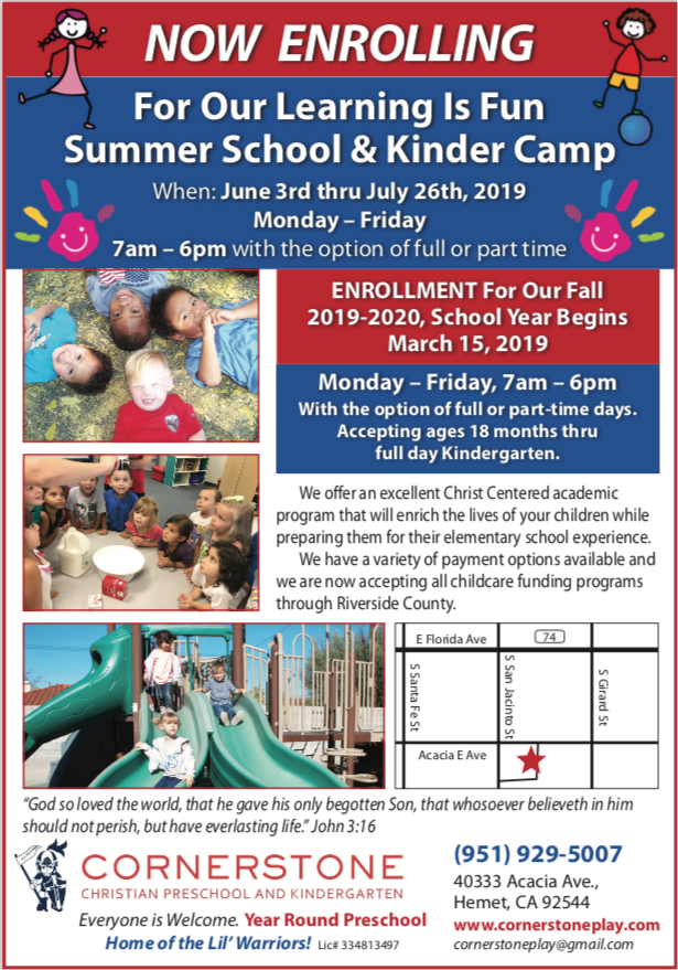 Cornerstone Preschool Summer Program 2019.png