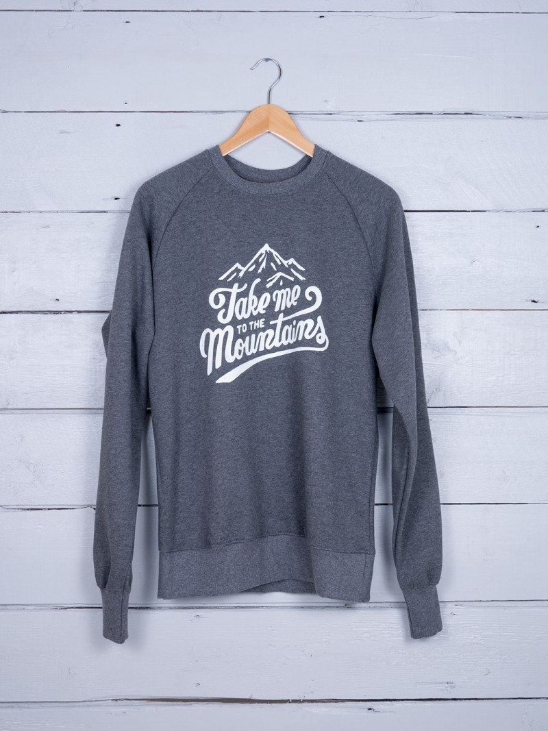 Take Me To The Mountains Sweatshirt . $60