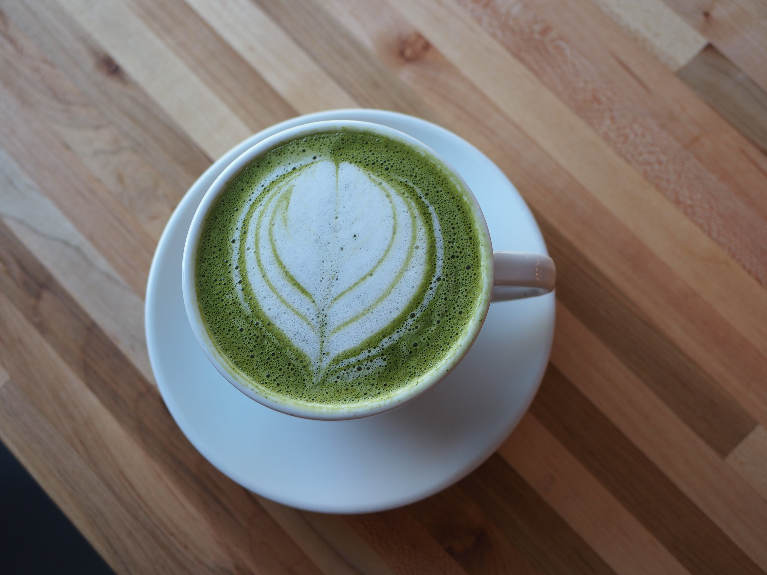 Matcha is filled with antioxidants, increases memory levels, and fortifies the immune system.