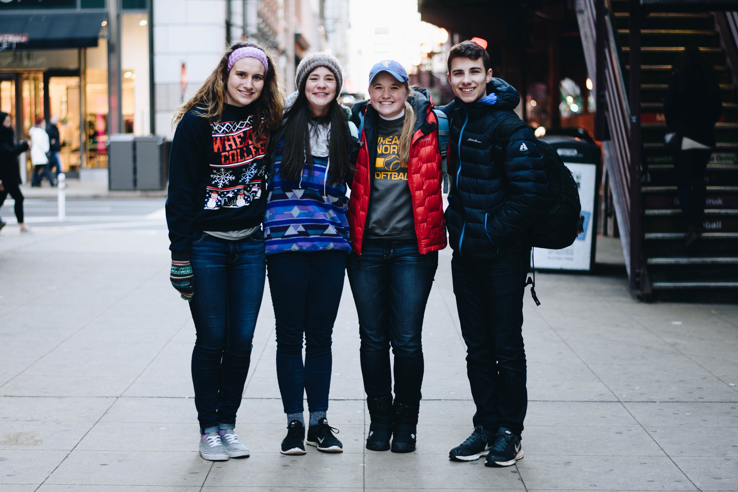 Betty, Eleah, Hannah, and Mark | State Street | November 20, 2016