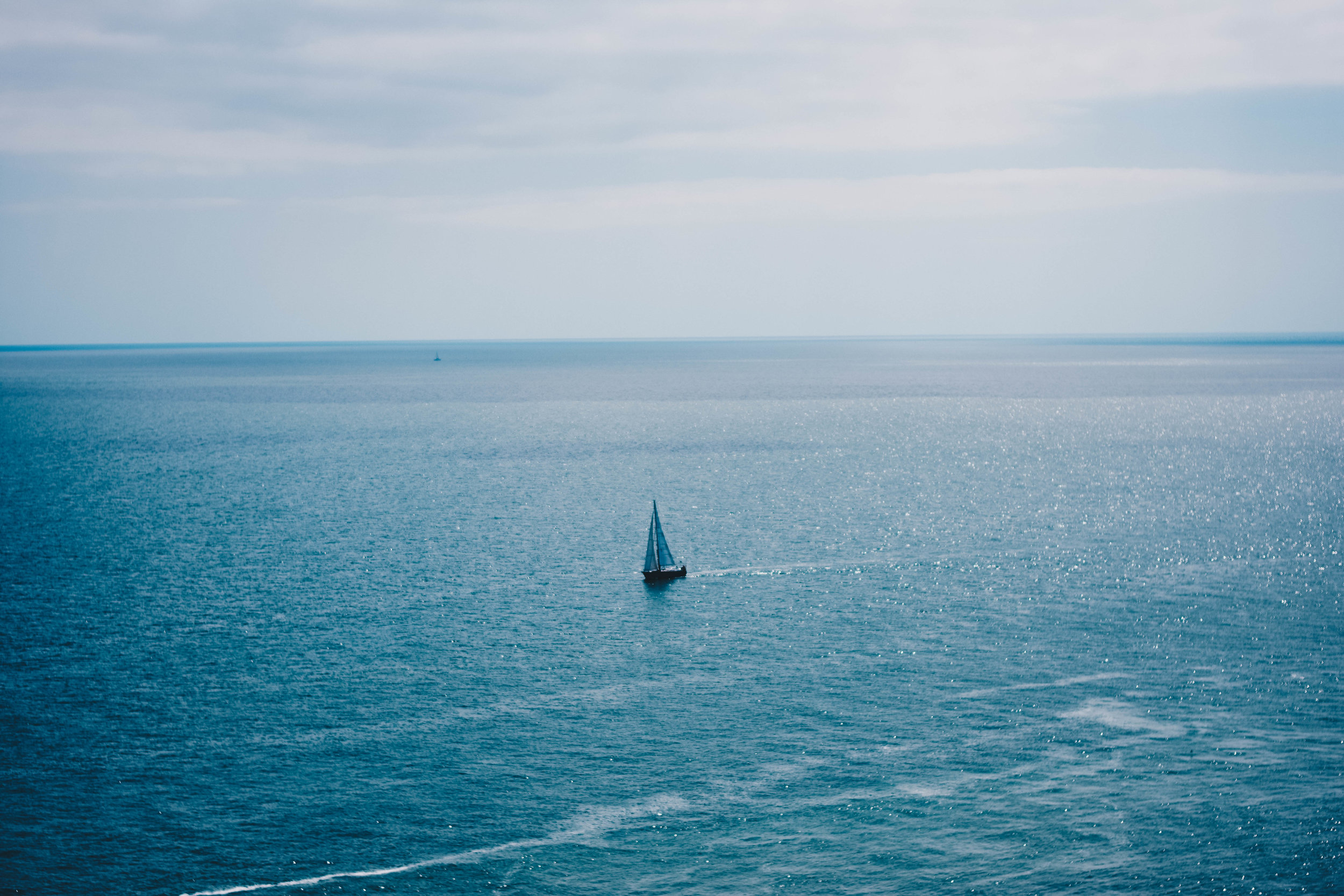 The Lonely Sail | Howth, Ireland | June 2016