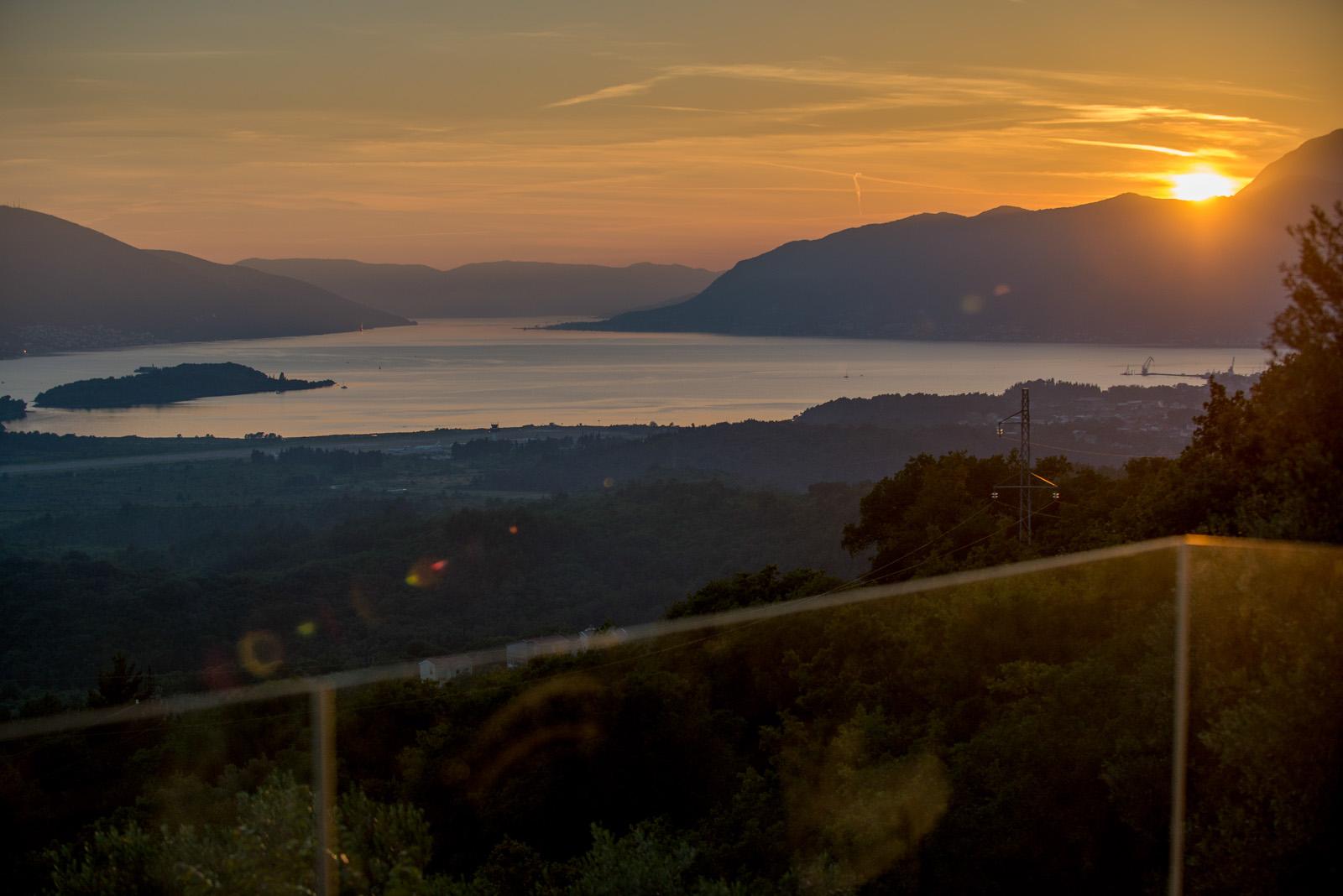 Overlooking Tivat Bay