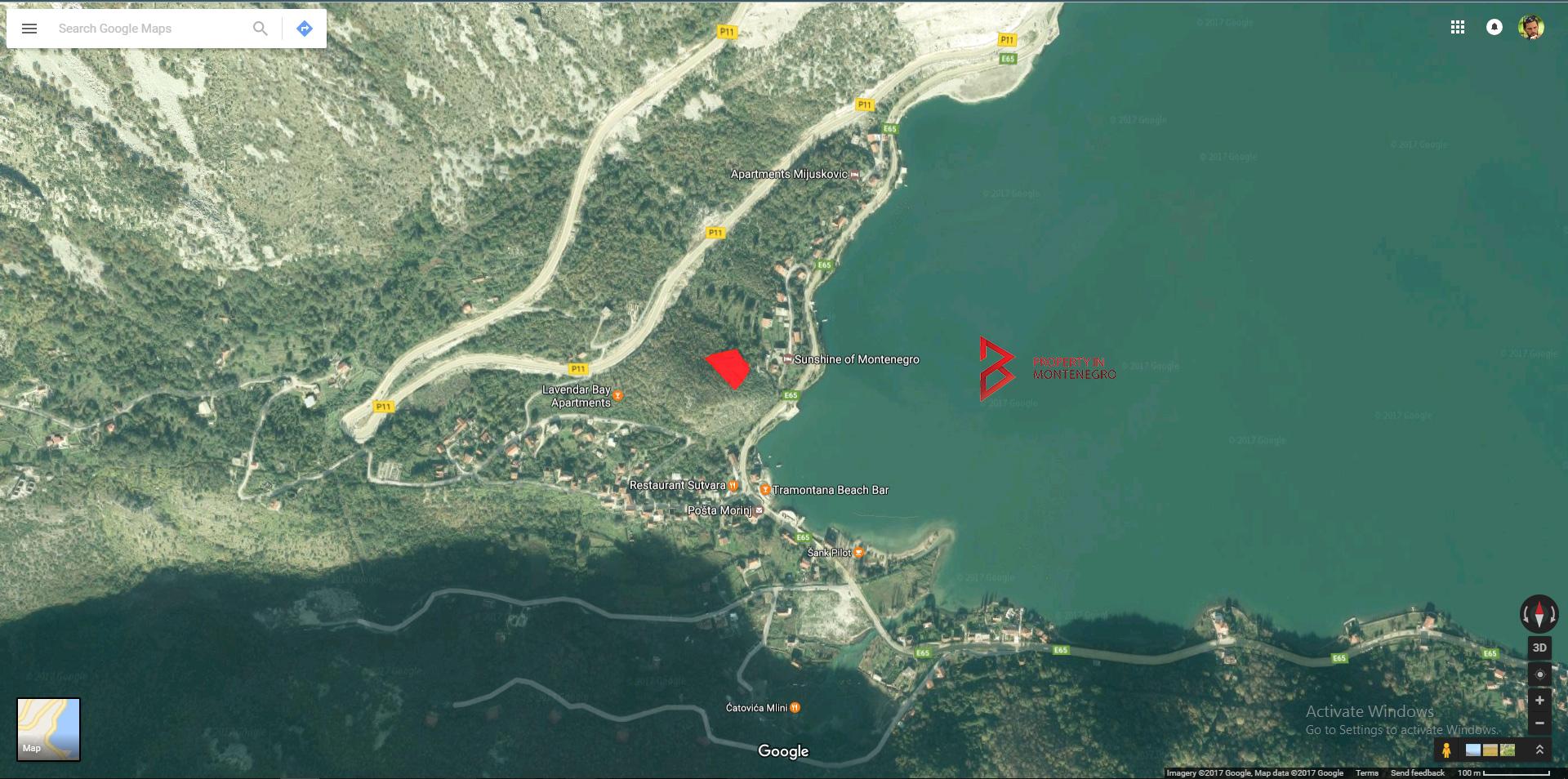 Land for sale in Boka Bay