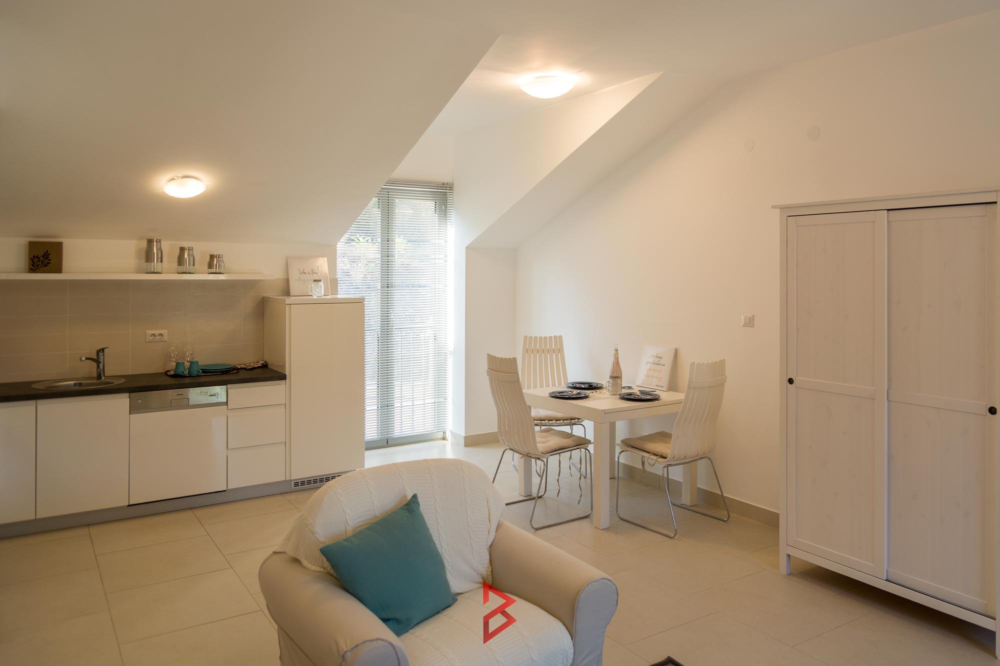 One bedroom apartment in Boka Bay