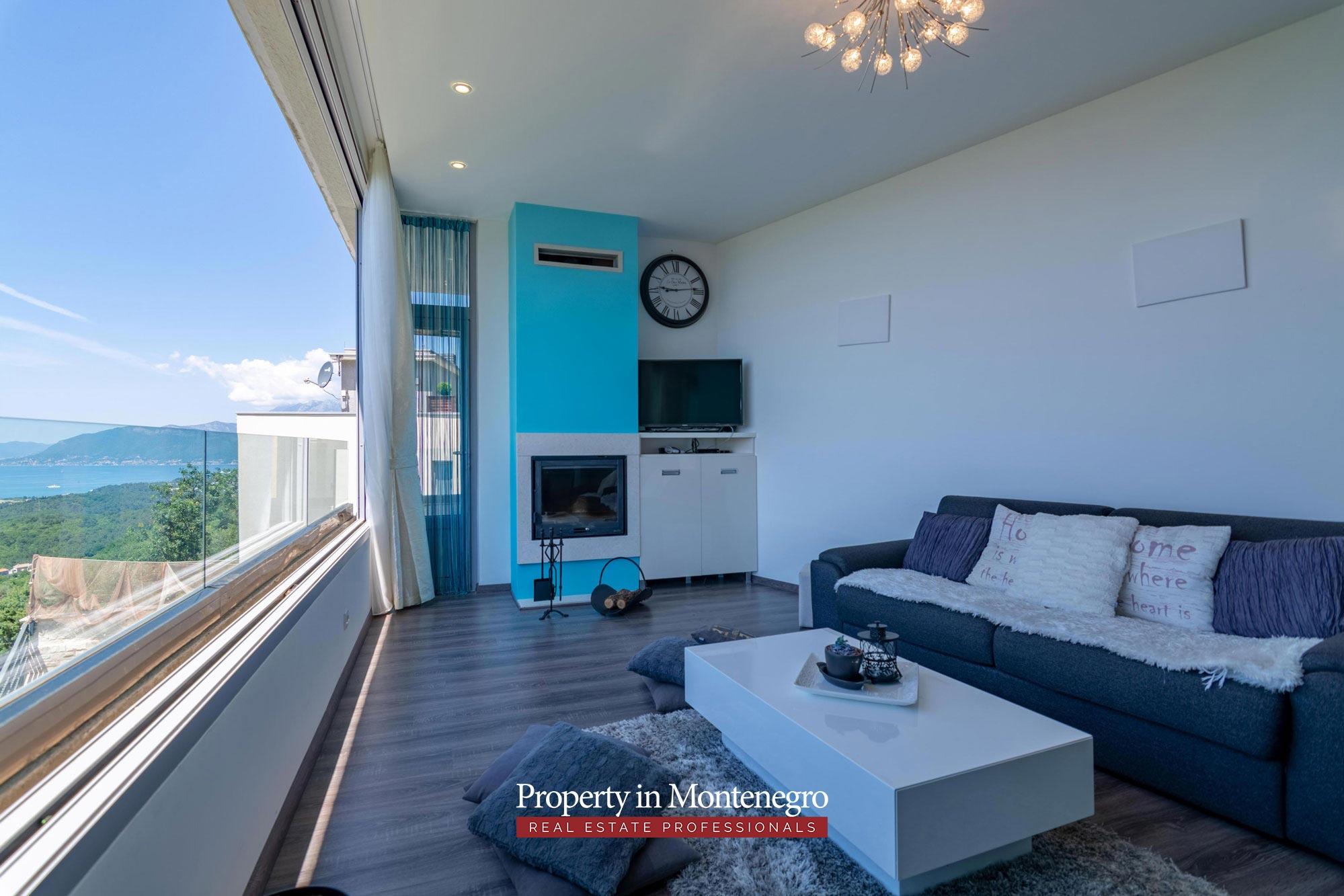 Luxury villa for sale in Tivat
