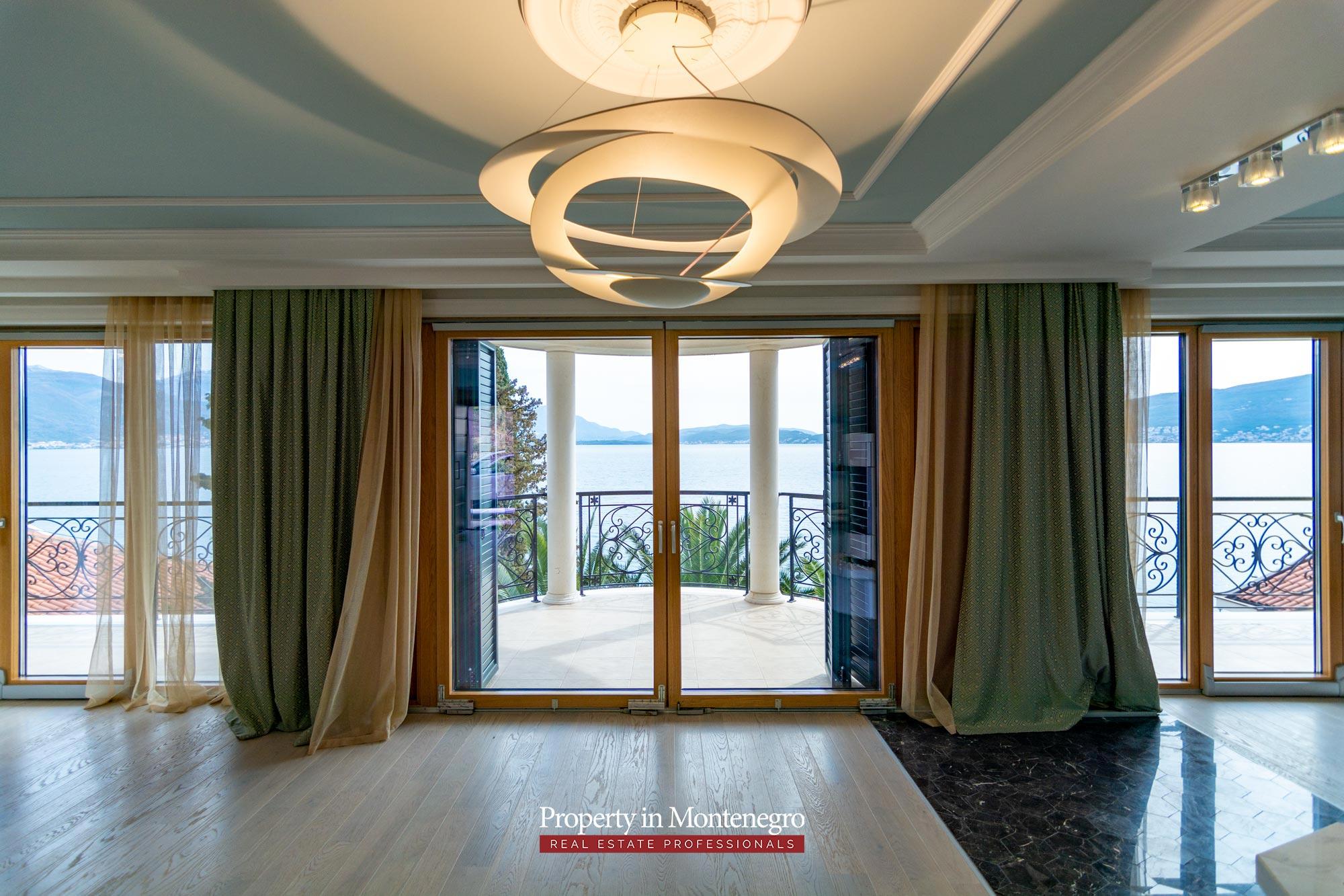 Luxury waterfront villa in Montenegro