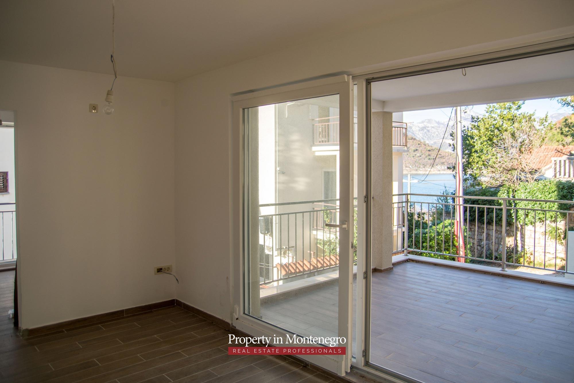 Three bedroom apartment in Tivat