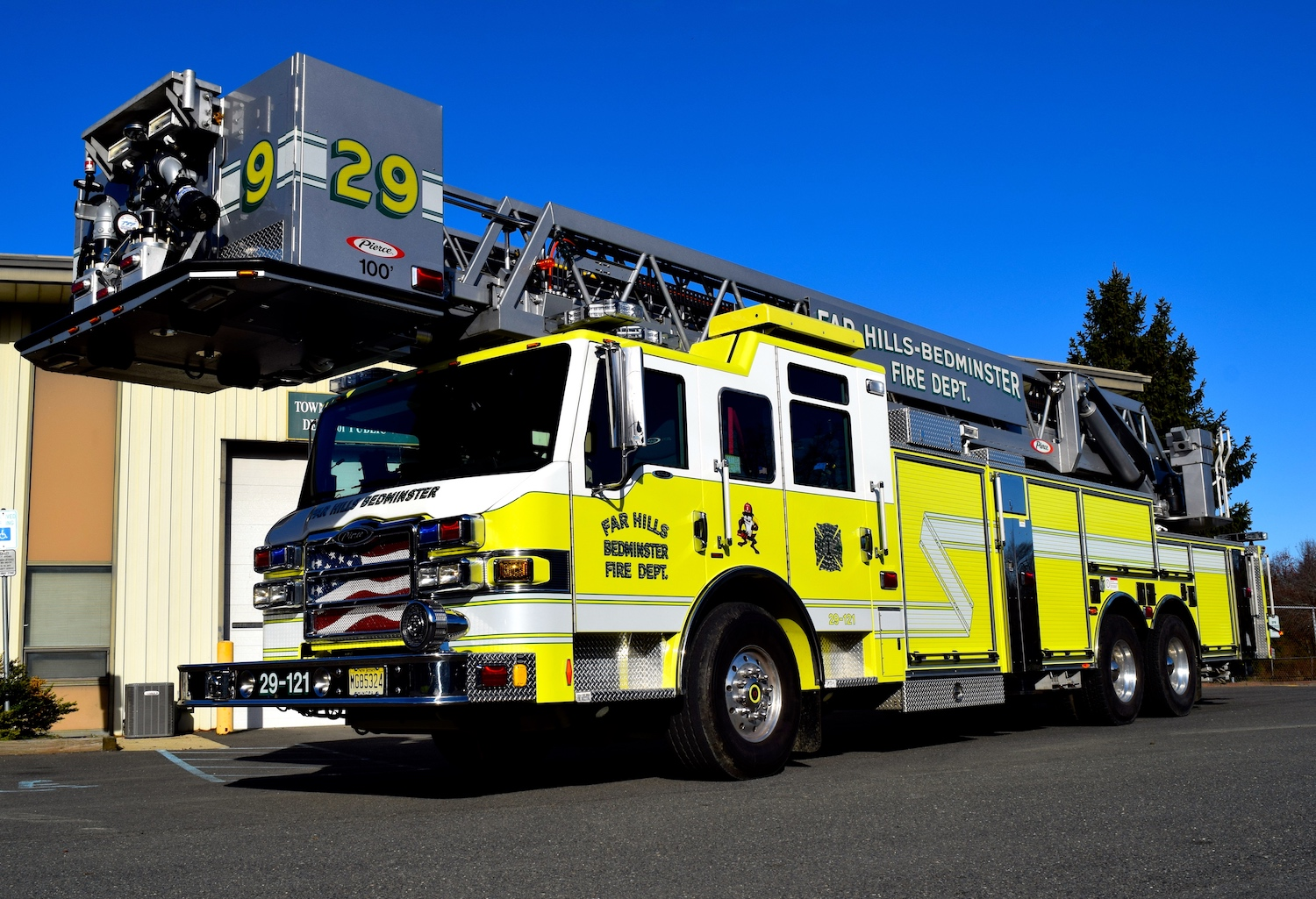 Truck 29 Ladder Tower