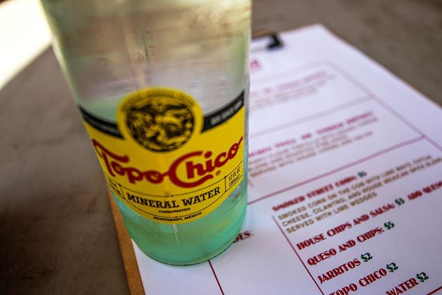 Grab a ice cold @topochicousa with your tacos today on the quad by Nott Hall 11-2:30pm.