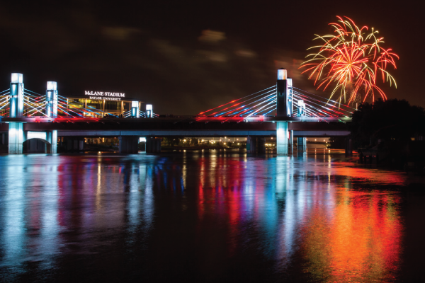 TUESDAY, JULY 4 FOURTH ON THE BRAZOS with H-E-B FIREWORKS HARD NIGHT'S DAY and STATION CREEK