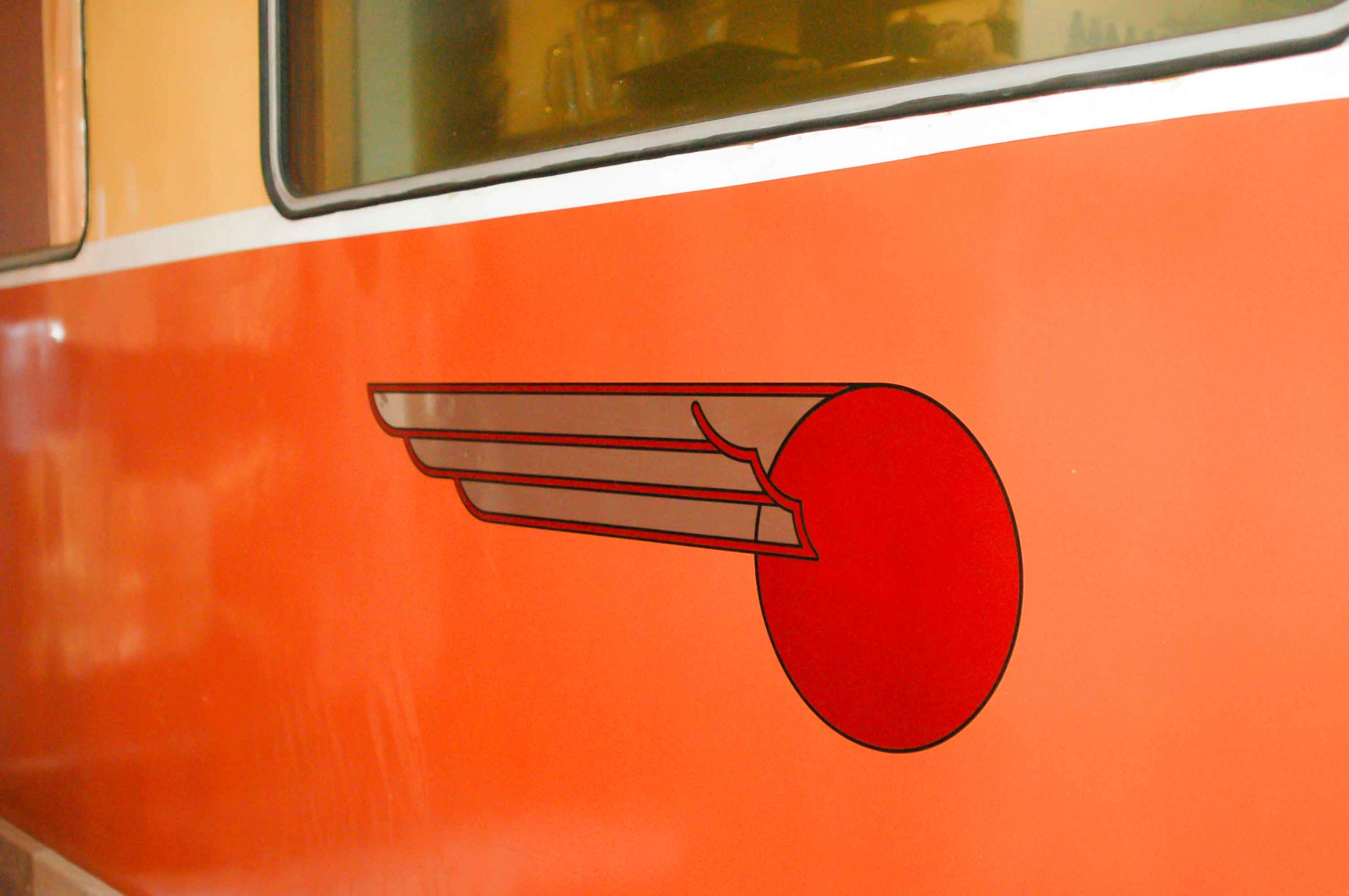Rail car detail