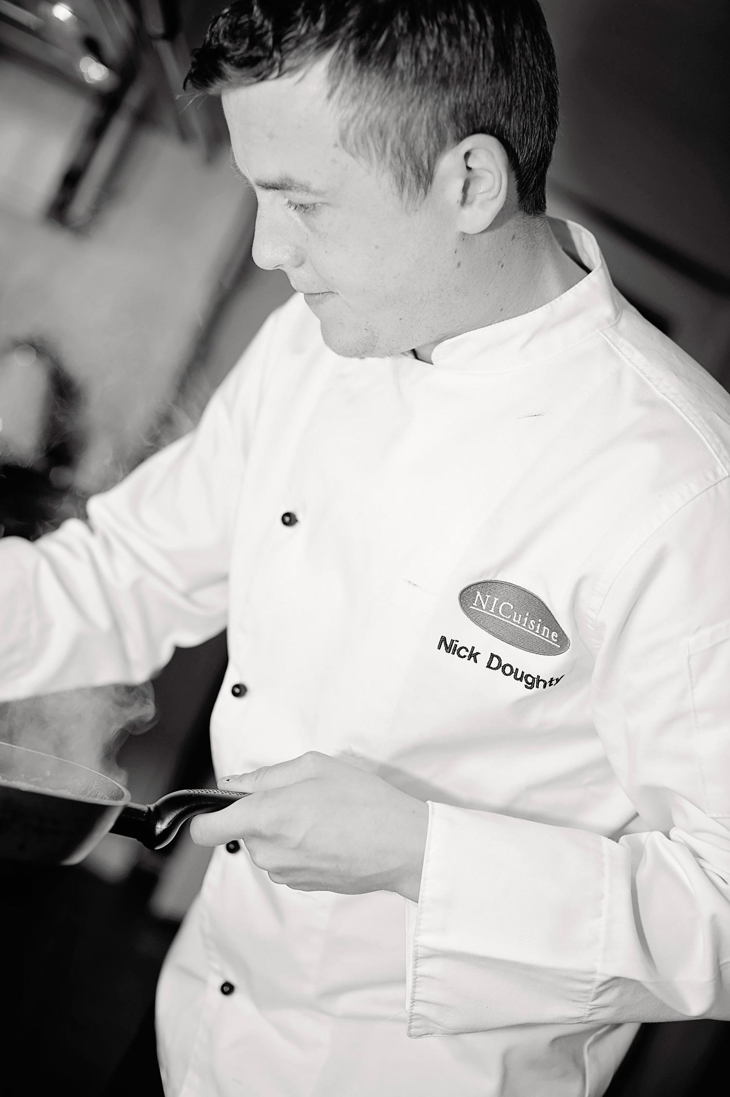 Nick Doughty - Executive Chef / Proprietor