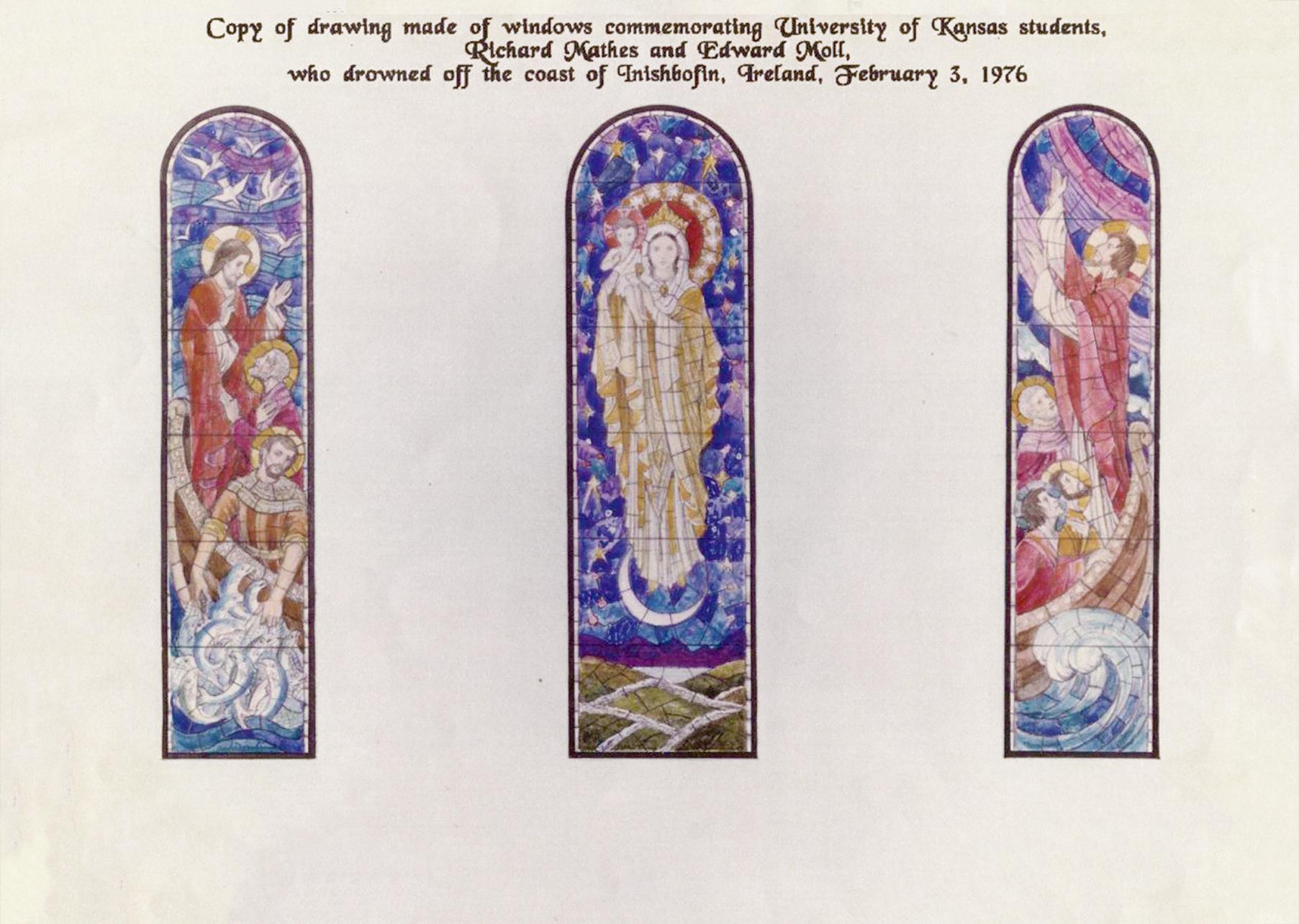 Window Installation – The Church on Bofin