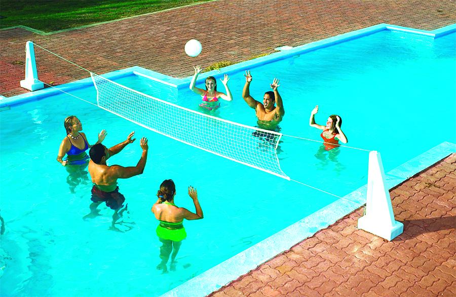 Pool Jam Combo Volleyball & Basketball