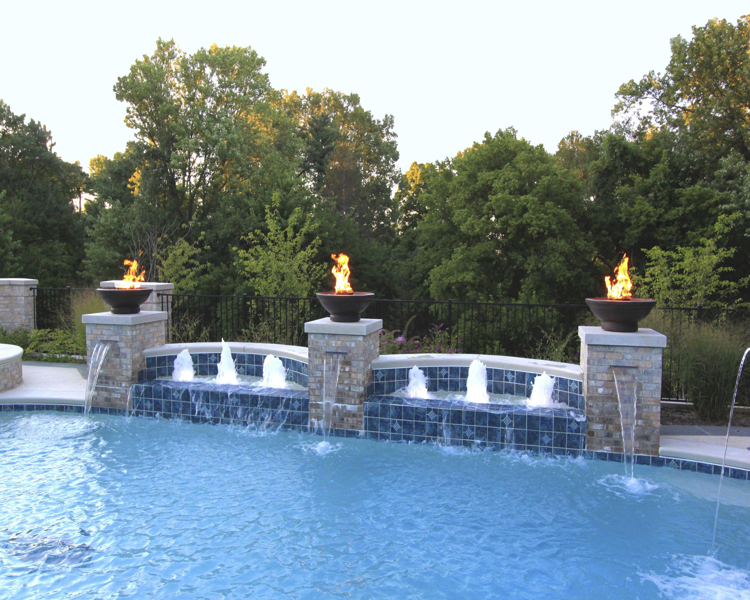 Water Features — Prestige Pools & Spas