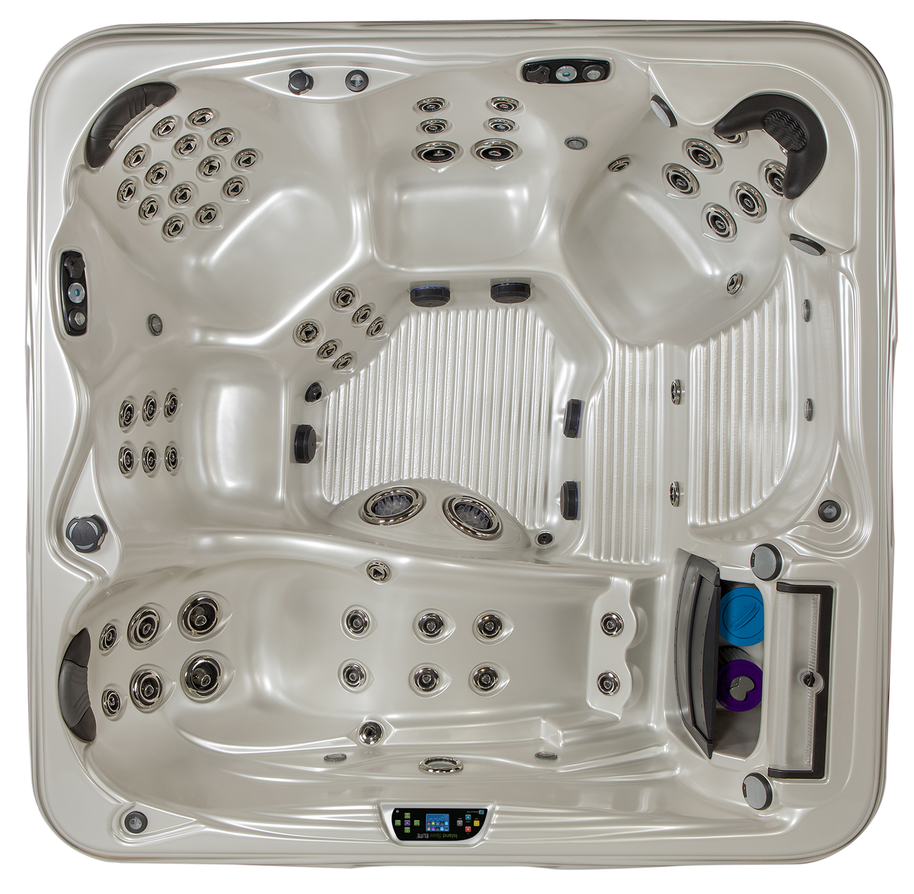 Grand Bahama Elite 8' Hot Tub by Island Spas available at Prestige Pools and Spas