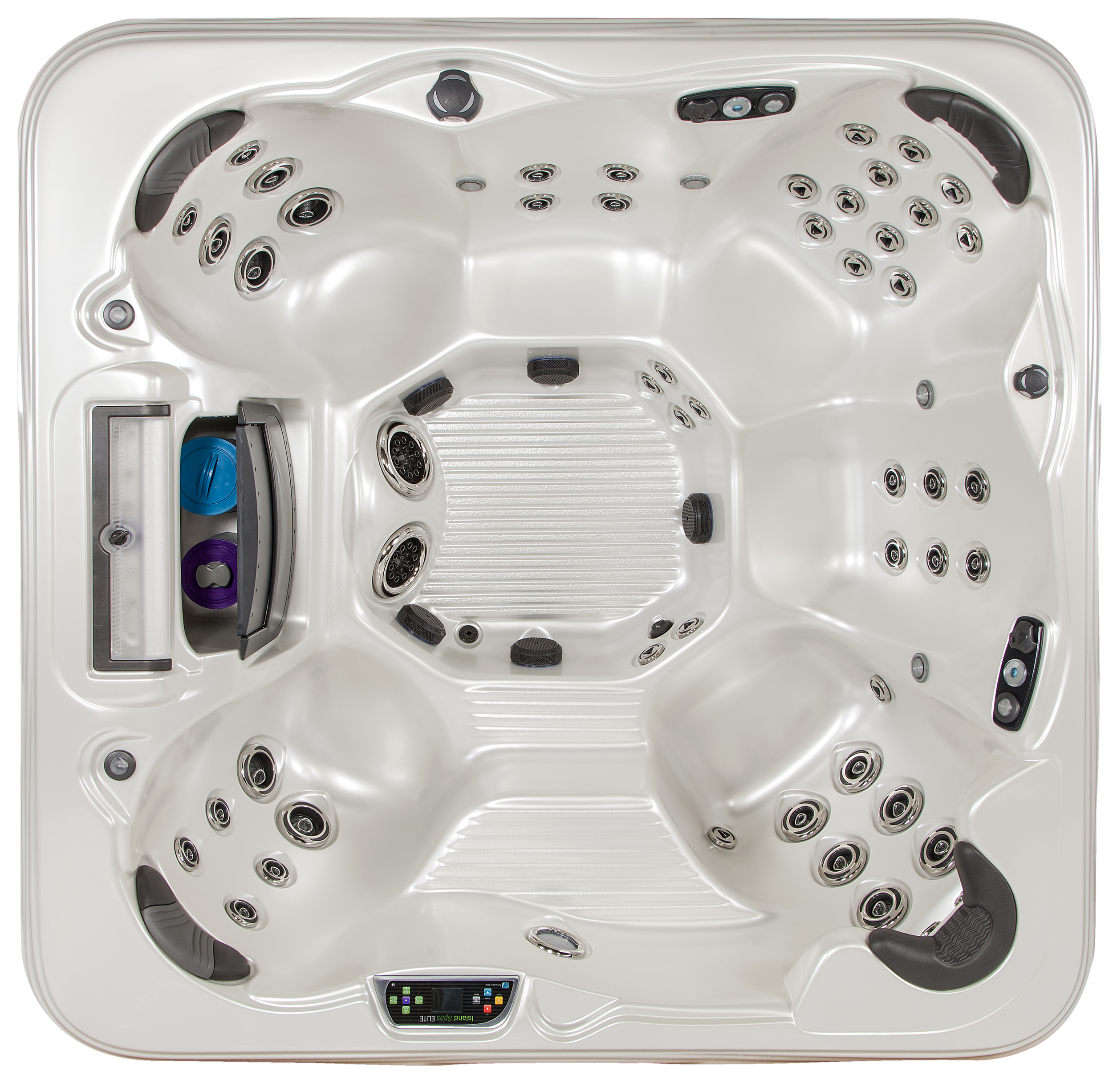 The Captiva Elite 7' Hot Tub by Island Spas available at Prestige Pools and Spas