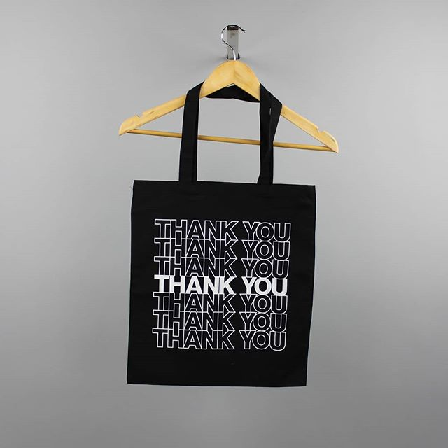 Gratitude all around! Especially for our friends @jkrglobal for collaborating with us on this amazing tote!