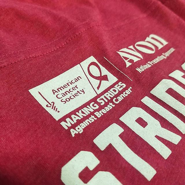So proud to be making strides alongside the @americancancersociety