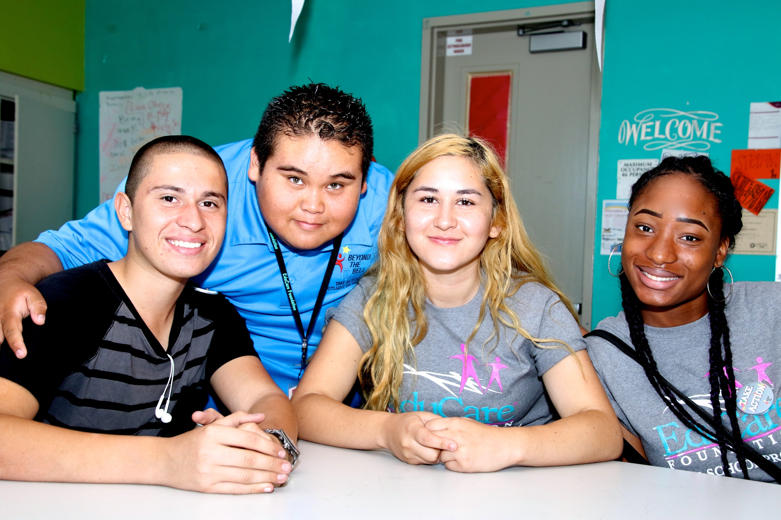 EduCare students participate in Beyond the Bell's Take Action Campaign Kick Off event