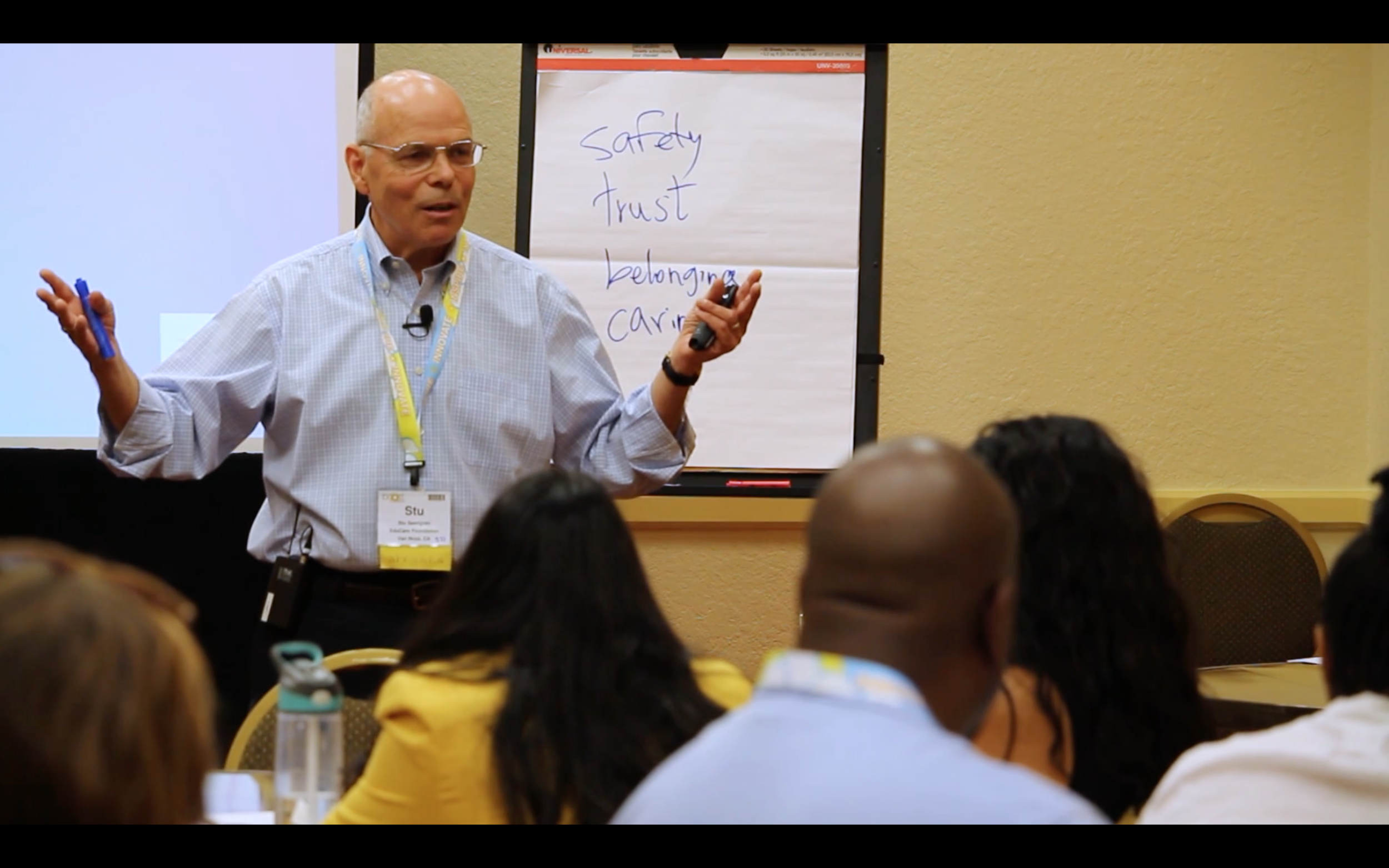 EduCare President & Co-Founder, Stu Semigran, delivers heart-centered Professional Development Workshop at the BOOST (Best of Out-Of-School Time) Conference.