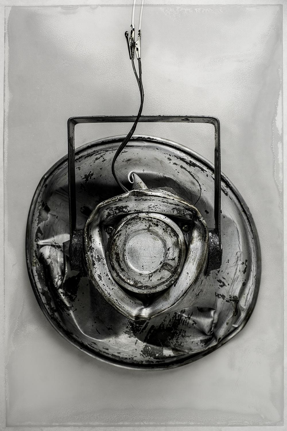 """Collision no 02 , 2015.  [série Dialogues]   Épreuves photographiques sur papier hahnemuehle 300 gsm, montage sur aluminium, bois & acier brut.   Photographic print on hahnemuehle 325gsm paper   162.7 x 111.8 cm (64"""" x 44"""")   Edition 1/5"""