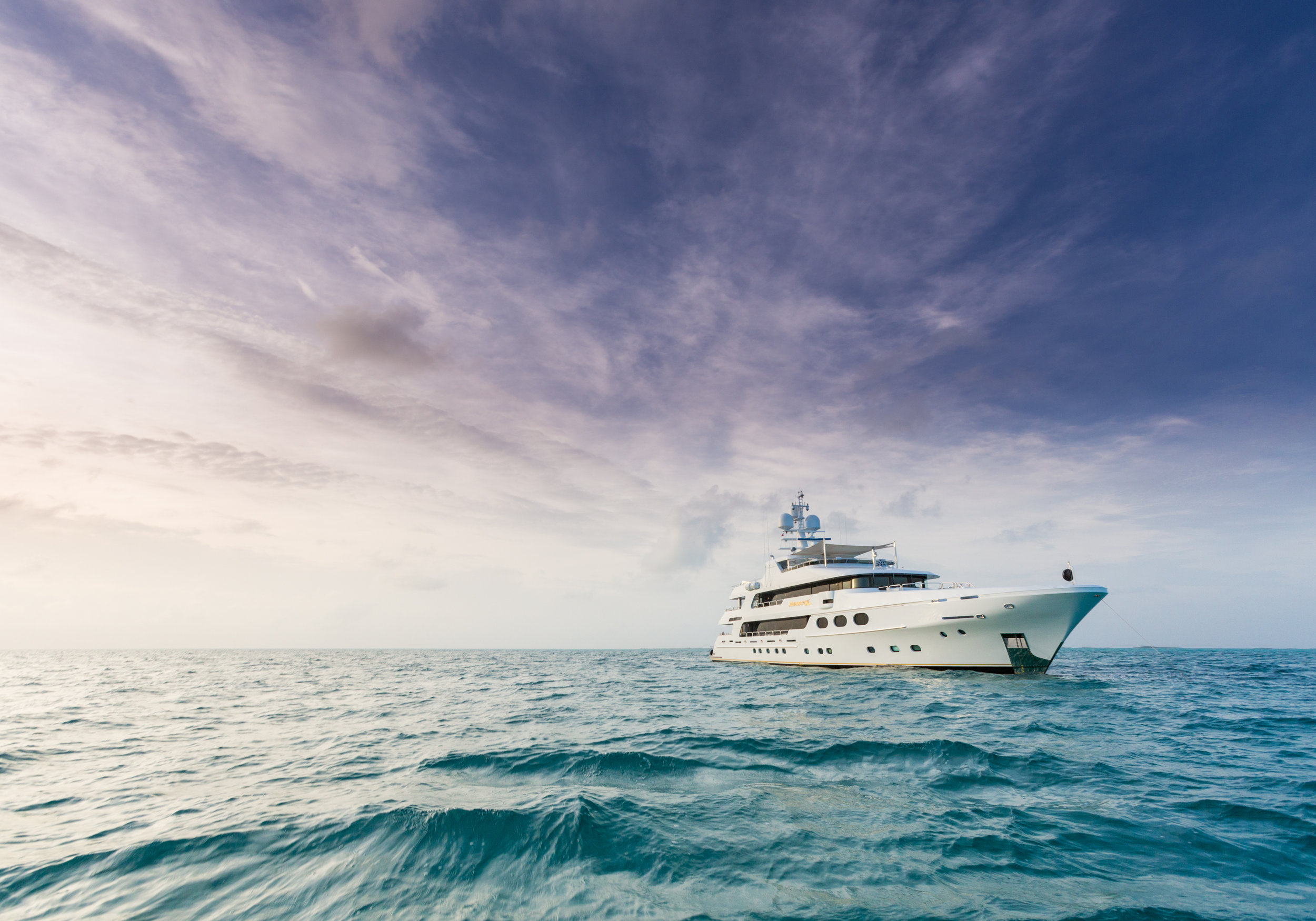 165' Charter Yacht Remember When, the vacation of a lifetime