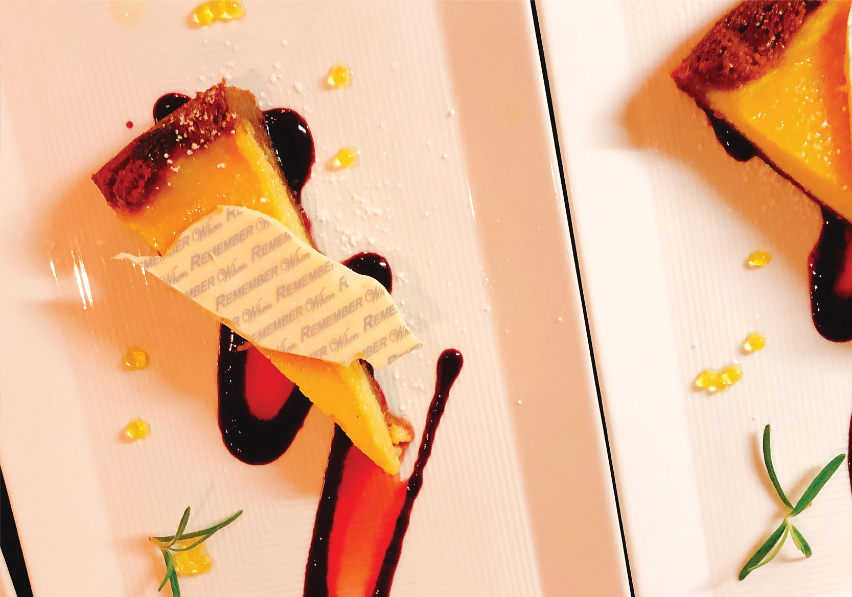 Citrus Tart with Raspberry Coulis