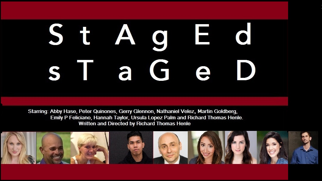 """JULY 27TH AND 30TH at the Manhattan Repertory Theatre at 9:00pm see Abby Hase perform with the hilarious cast of """"S.T.A.G.E.D"""" by Richard Thomas Henle. Follow this link for ticket information.http://manhattanrep.com/staged-by-richard-thomas-henle/"""