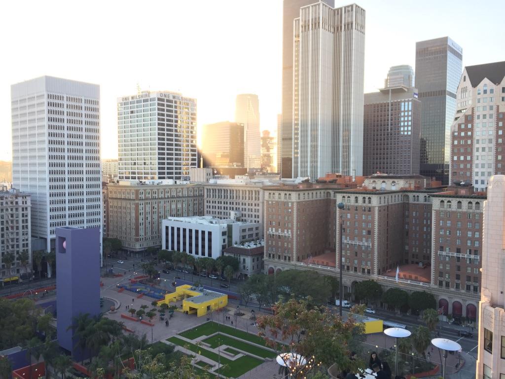 Pershing Square. Downtown LA. March 2017. Credit: AJ Joven