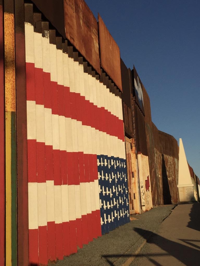 Mexican side of the US-Mexico Border. Tijuana, Mexico. November, 2016. Credit: AJ Joven