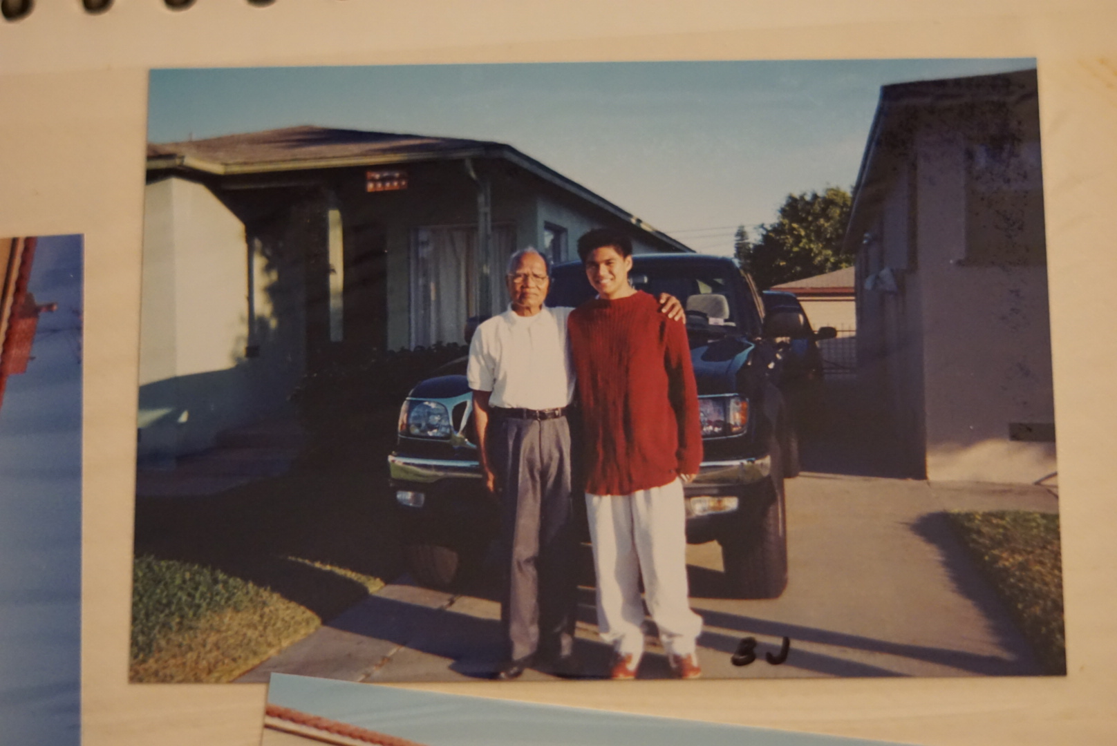 Me and Lolo. 2001. Photo credit: Lolo's archives.