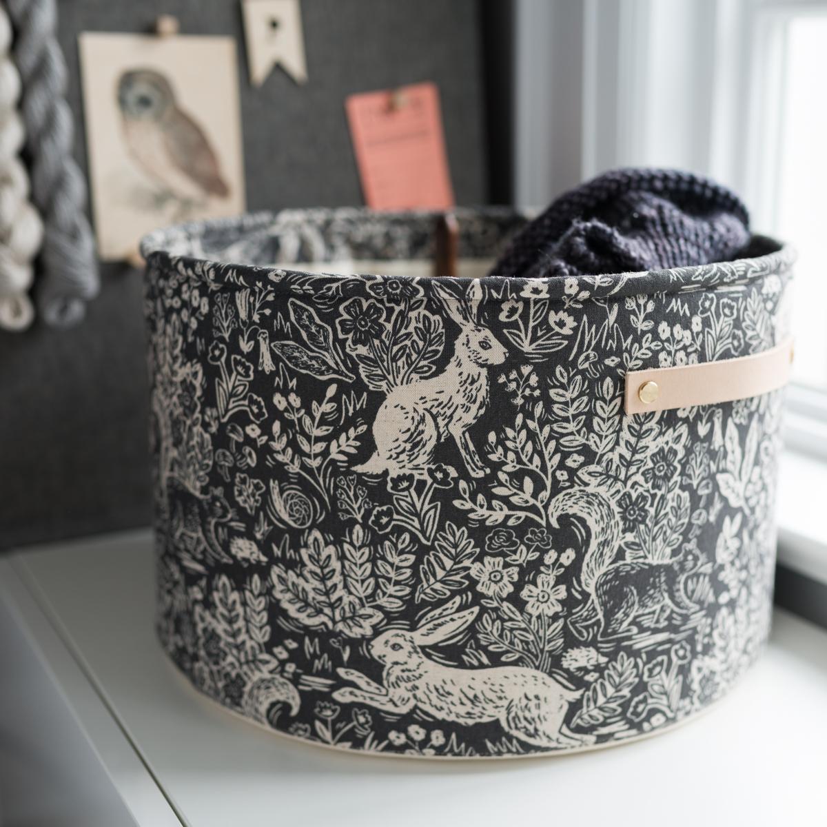 Wildwood Knitting Basket