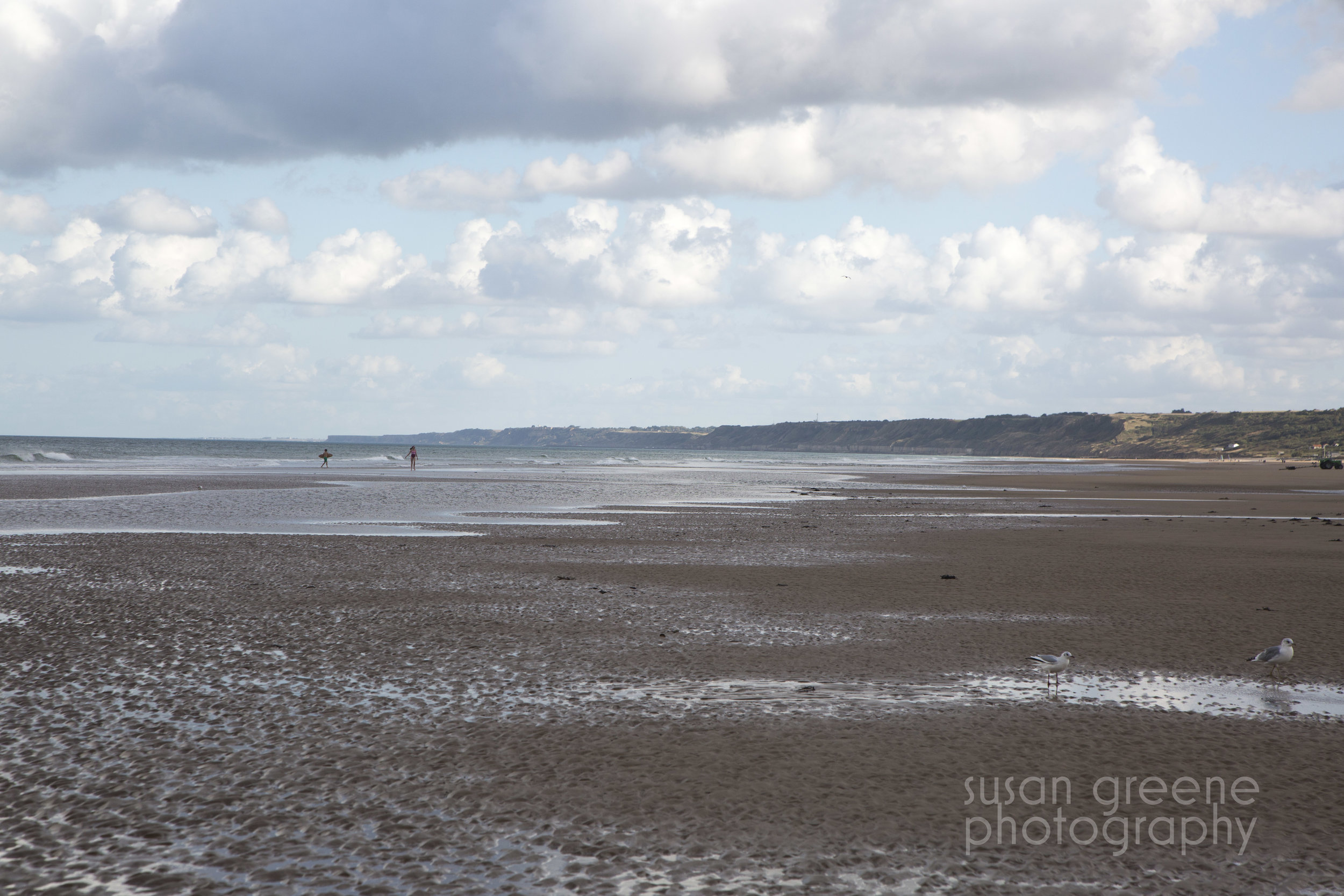 Copy of omaha beach frolicking