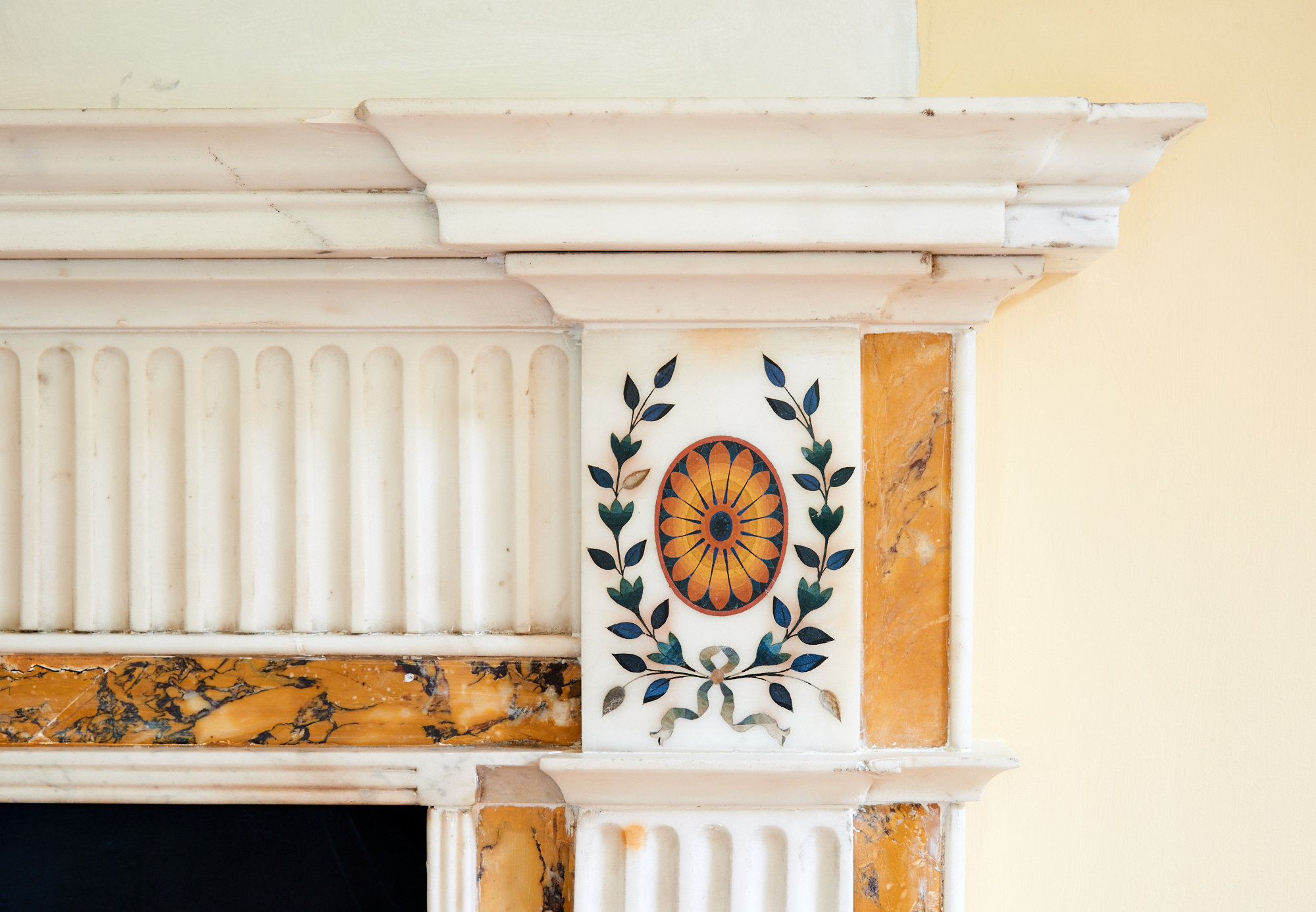 Alan Turkington Interiors Marble Fireplace 2.jpg