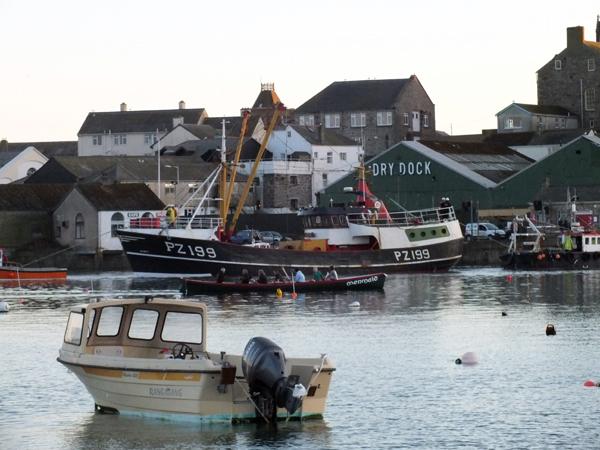 Penzance Dry Dock - Photo by Steve Parker