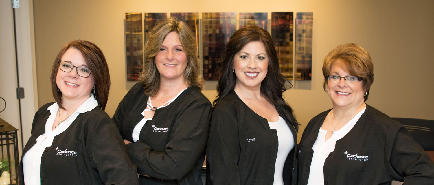 Your Business Administrators: Suzanne, Angie, Leslie (Office Manager), and Kathi