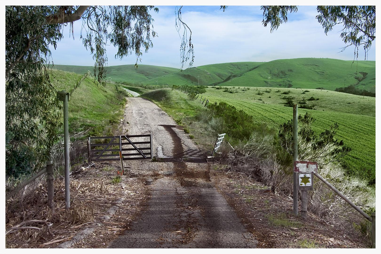 Country Gate, Near Morro Bay, California