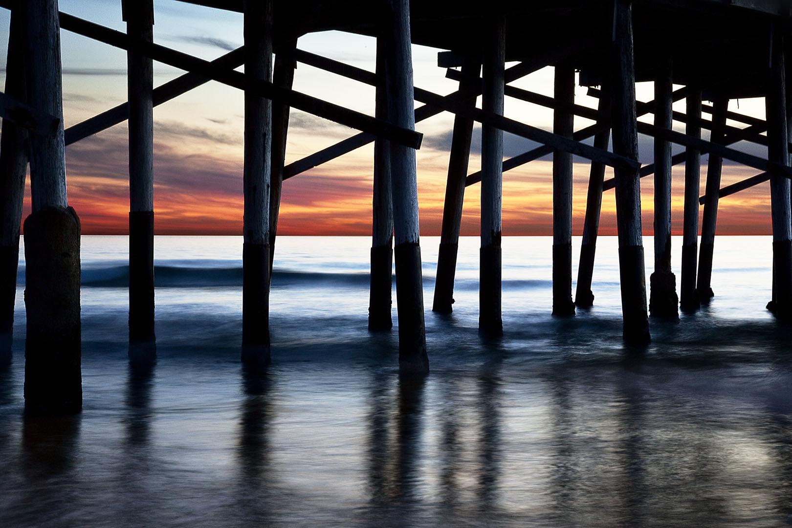 Pier Sunset, Newport Beach