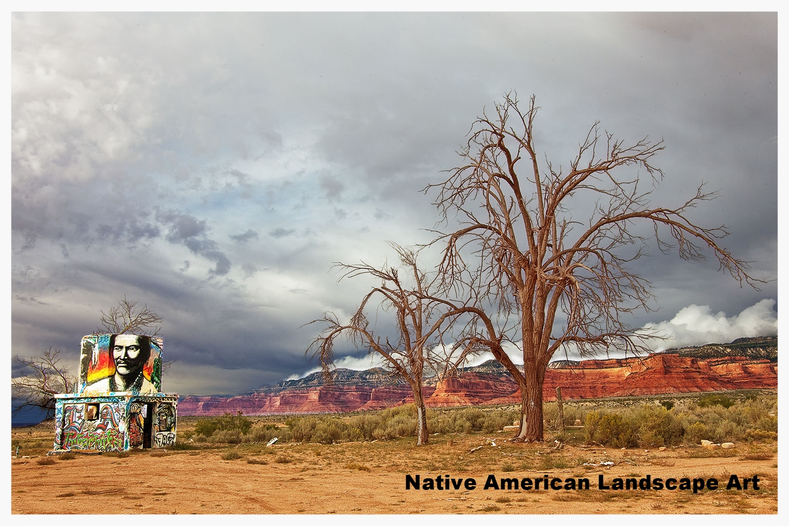 Click to view Native American Landscape