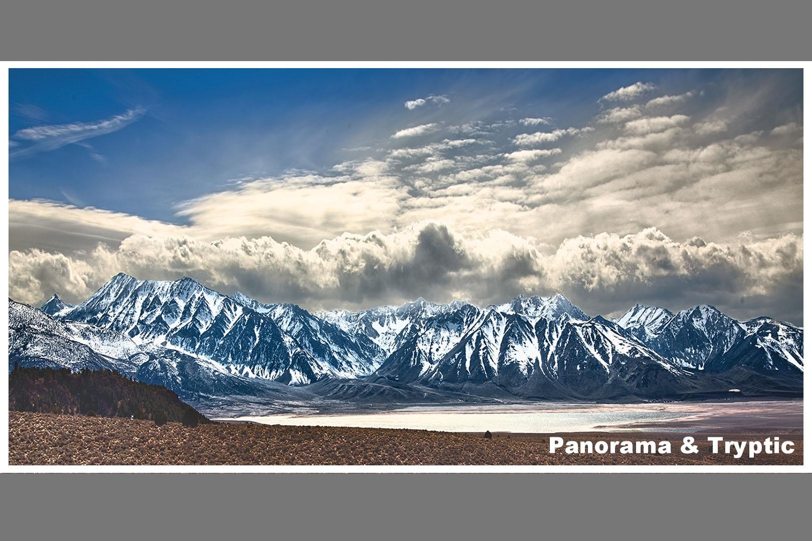 Click to view Panorama & Tryptic Portfolio