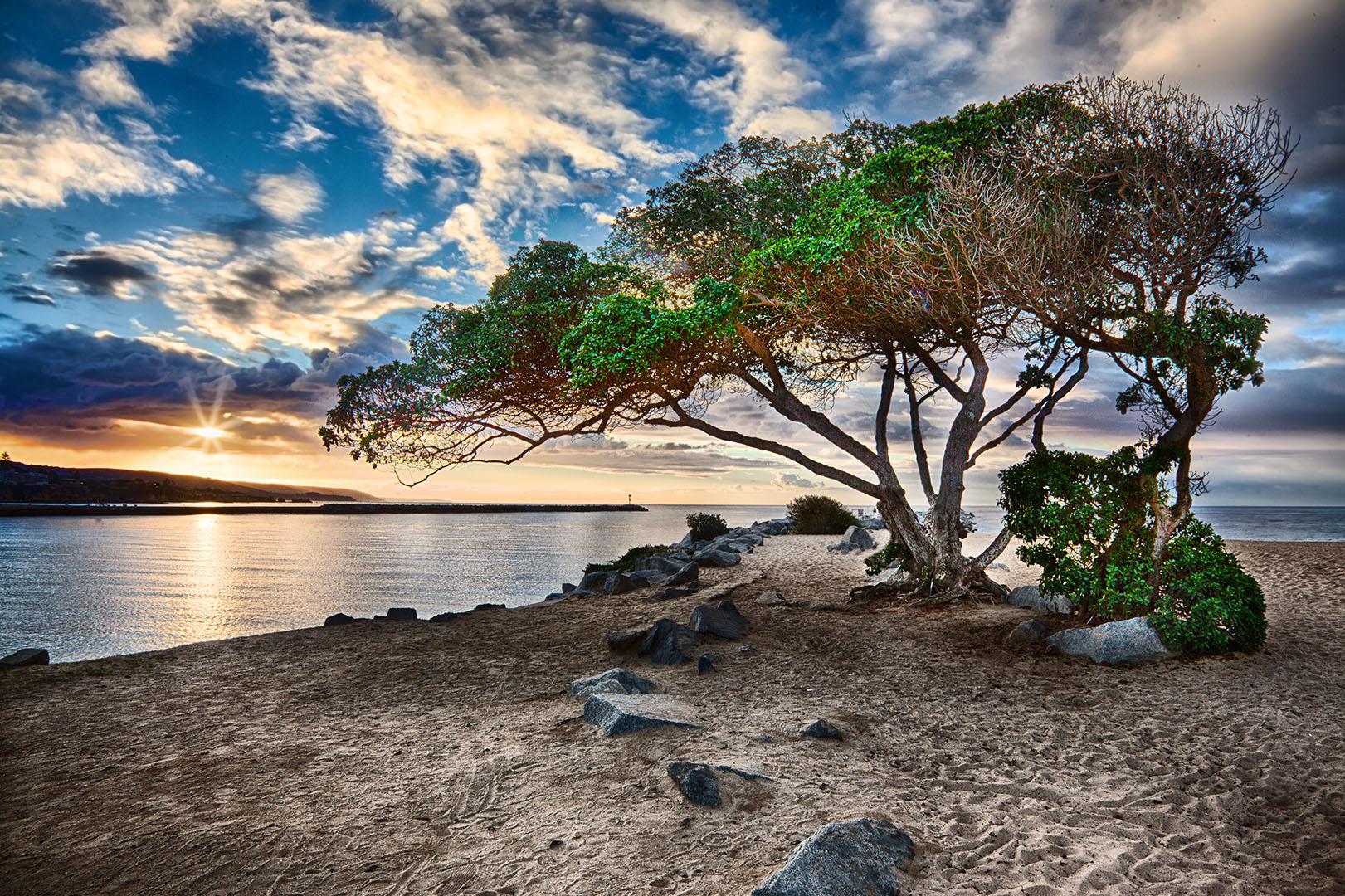 "Sunset at ""The Wdge"" Newport Beach"