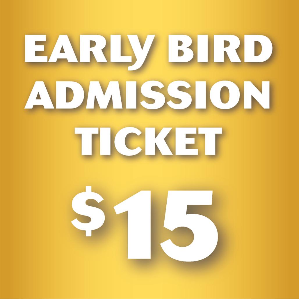 Buy AN Early Bird Ticket