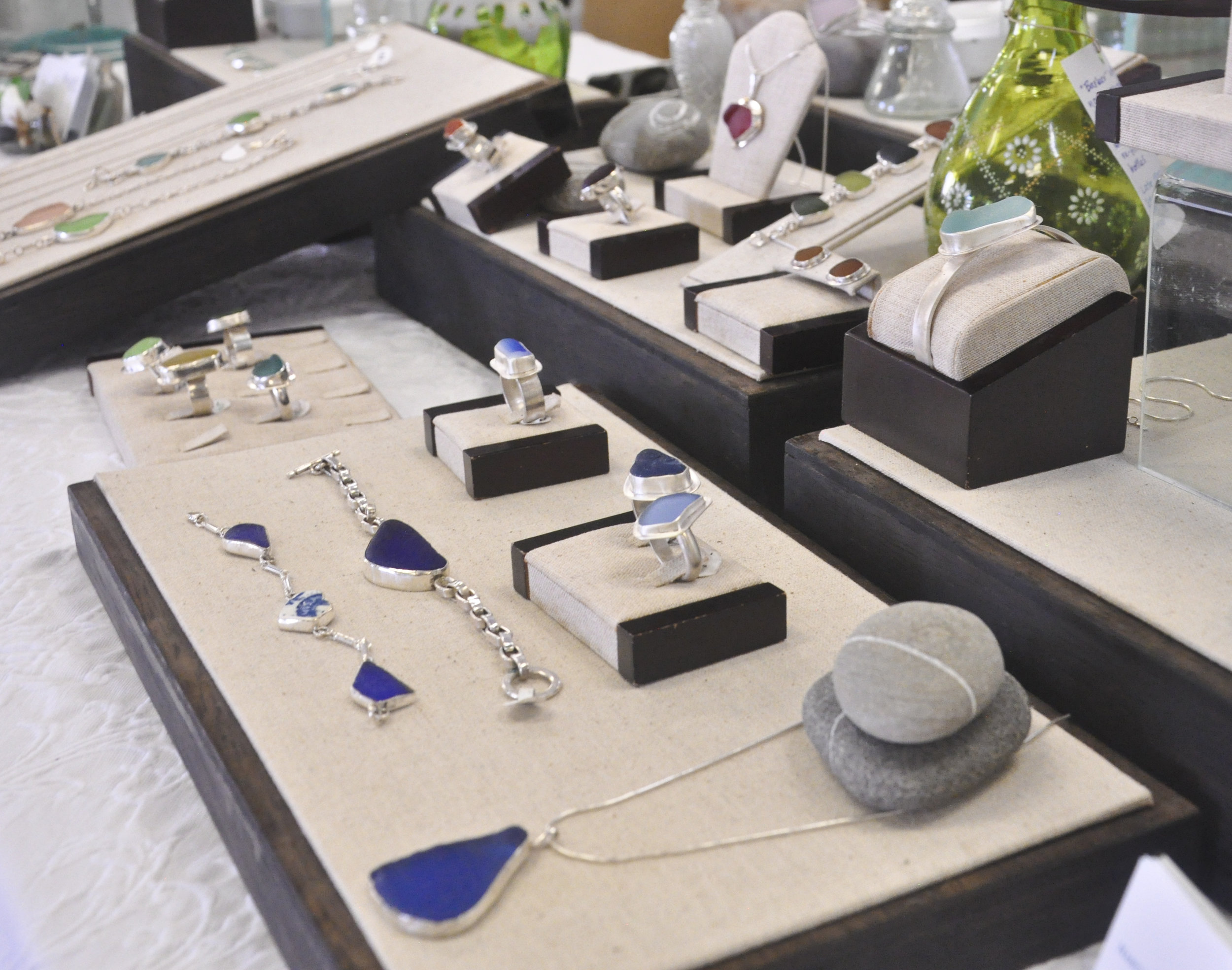 Chesapeake Sea Glass Jewelry photo by Heidi Kirkpatrick