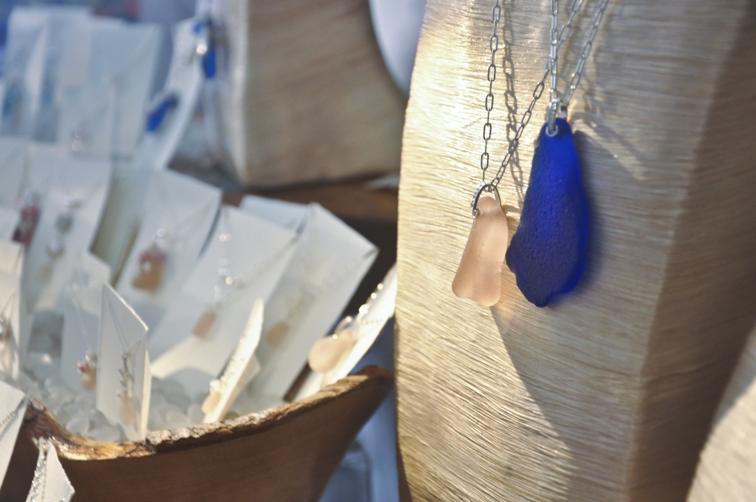 Katie Carren Artisan Sea Glass Jewelry photo by Heidi Kirkpatrick