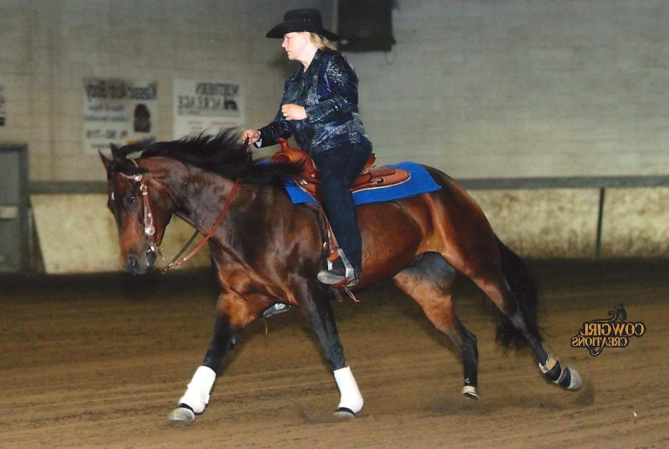 """Reining horse """"Mr. Wilson"""" recovers from injuries against all odds with the help of Equine Light Therapy."""