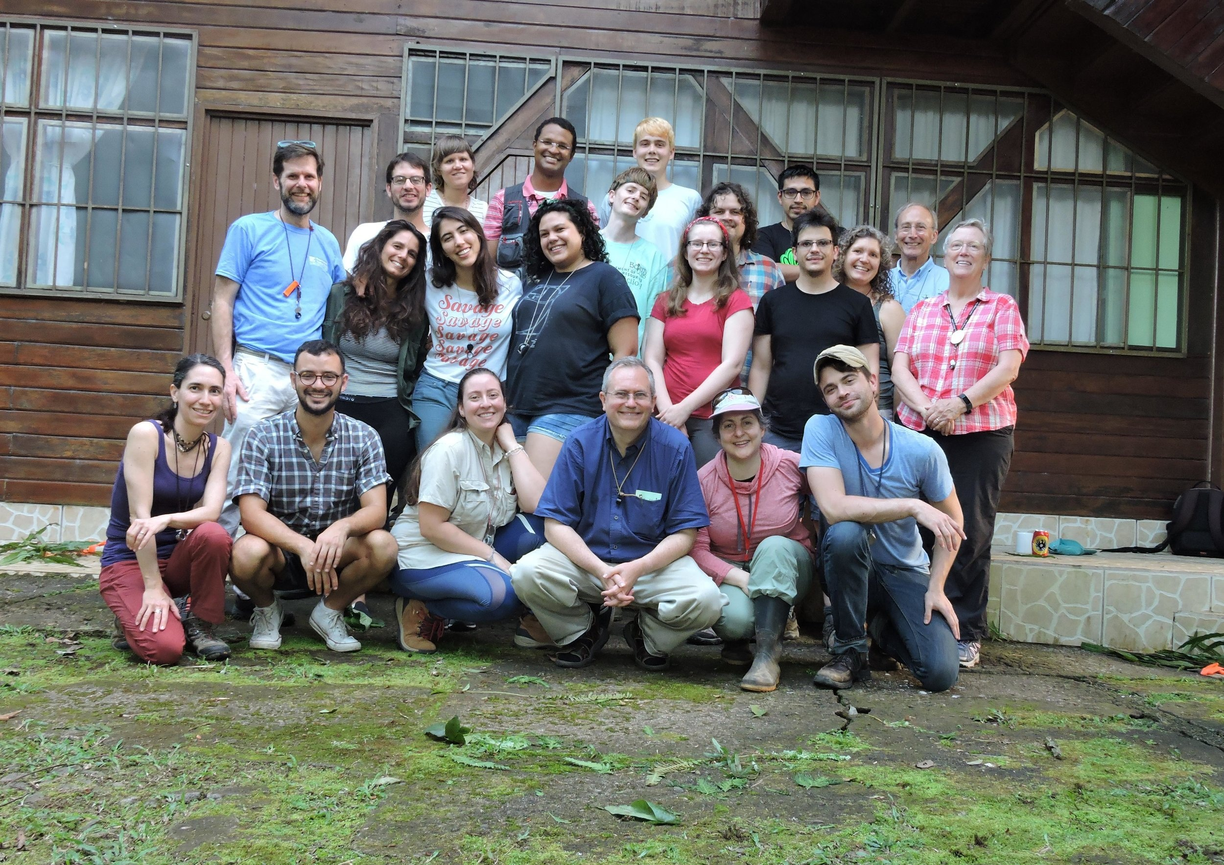 Participants and faculty, Organization for Tropical Studies: Tropical Ferns & Lycophytes   graduate   field course.