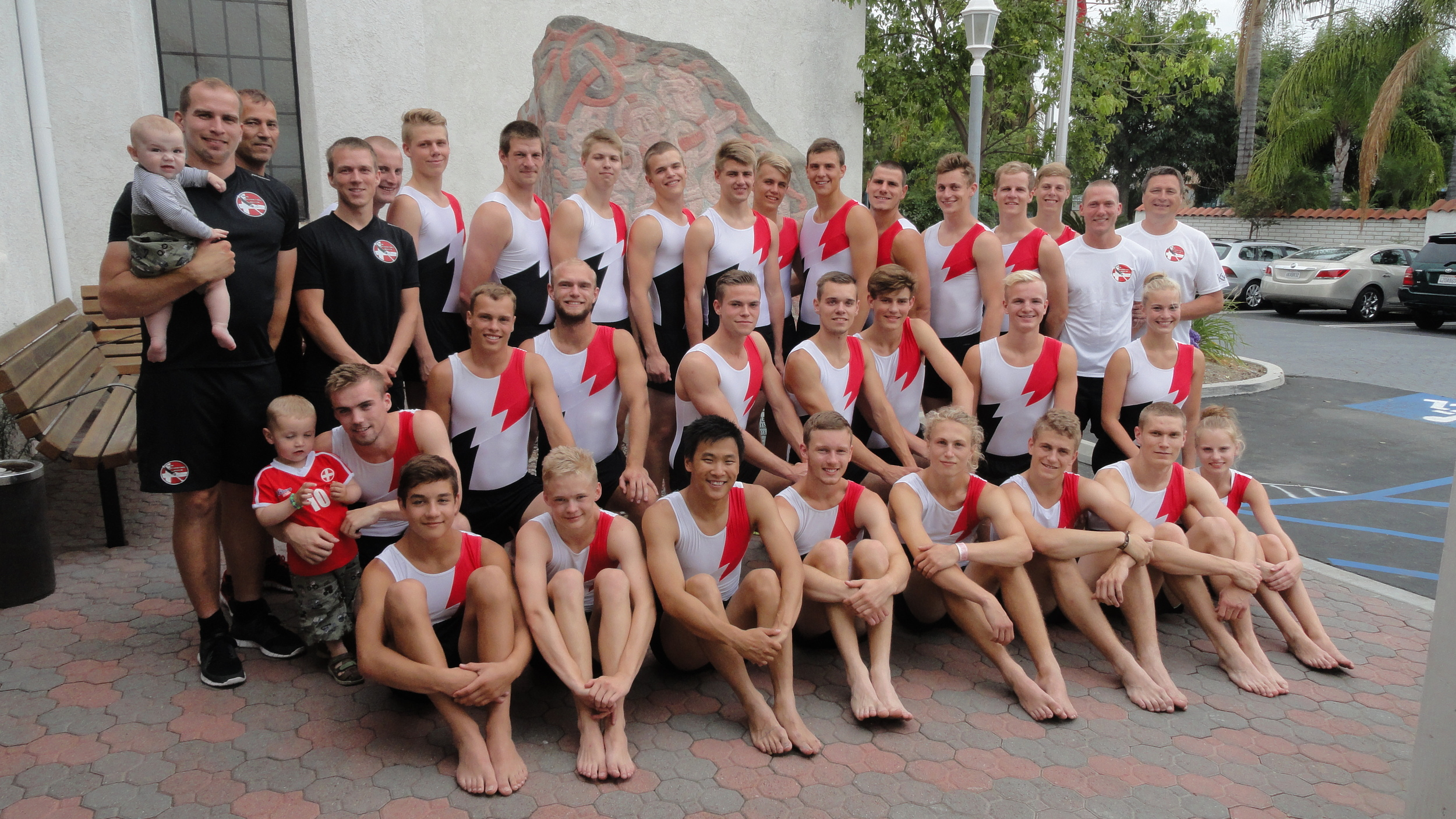 The Ringsted Boys Gymnastics Team