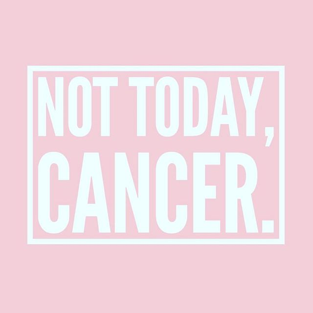 Not ever. Fighting this thing one day at a time. #hodgkinslymphoma